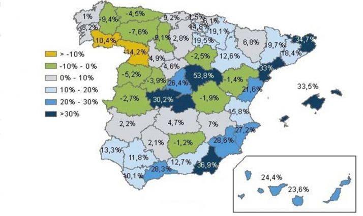 mapa pueblos despoblados
