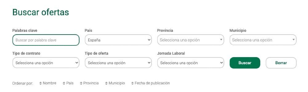 captura pantalla buscador ofertas trabajo mercadona